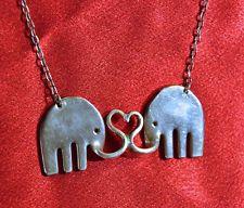 Elephant Fork Love Necklace
