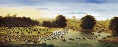 Pasaje del Arroyo San Jose 1865