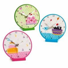 CUPCAKE - Θέμα Βάπτισης | 123-mpomponieres.gr Clock, Cupcakes, Wall, Home Decor, Shopping, Watch, Cupcake, Decoration Home, Room Decor