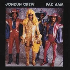 The Jonzun Crew looking slightly outrageous on the cover of their Pac Jam Worst Album Covers, Music Album Covers, Lp Cover, Vinyl Cover, Cover Art, Bad Album, Vintage Street Fashion, Piece Of Music, Music Humor