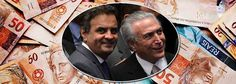 247 – Michel Temer liberou R$ 200 milhões em emendas para salvar o mandato de Aécio Neves (PSDB-MG), na sessão de ontem do Senado Federal....