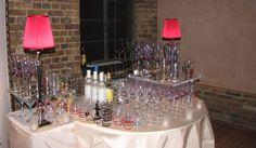 Bar Setup for a Private Event