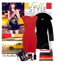"""""""Fall Style With The RealReal: Contest Entry"""" by polybaby ❤ liked on Polyvore featuring Altuzarra, French Connection, Valentino, Giuseppe Zanotti, Dolce&Gabbana and Agonist"""