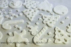 This homemade clay can be used to make shapes, cement kids' handprints, and mark momentous occasions like buying a new house by taking the imprint of your keys. Leave a hole in the top, thread some ribbon through, and turn them into ornaments!
