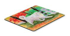 Great Pyrenees Mouse Pad / Hot Pad / Trivet