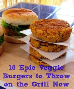 Love veggie burgers, looking forward to trying these.