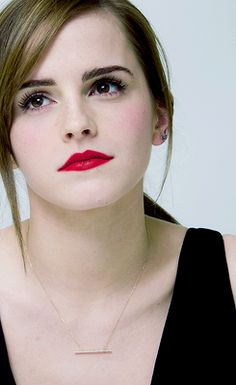 "Emma Watson ""Noah"" press conference, Beverly Hills, March 2014."