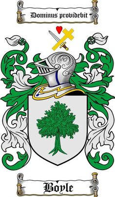 boyle family crest boyle coat of arms gifts available at WWW.4CRESTS.COM…