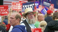 A political action group is urging the Amish, whose leaders discourage voting, to back the Republican nominee