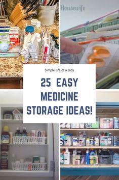 ideas for storing medicine Medicine Storage, Medicine Organization, Organize Medicine, Organization Ideas, Pull Down Spice Rack, Utensil Caddy, Pill Organizer, Plastic Bowls, Door Storage