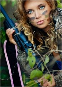 hunting and senior portraits
