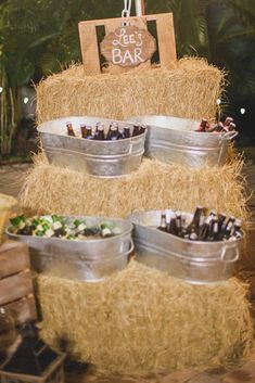 Country Wedding Decor Ideas You Will Have To Steal ❤ See more: http://www.weddingforward.com/country-wedding/ #weddings #BackyardWeddingIdeas