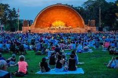 On the banks of the Charles the Esplanade . a gathering of lovers of music and theatre enjoying performances in the summer months.  Picnics and family fun and get-togethers with friends to share wonderful memories !!! A favorite of mine !!! The Boston Symphony Orchestra and The Boston Pops are regulars here !