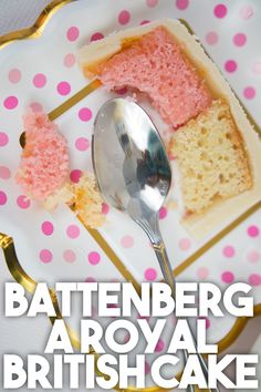 Behold the Battenberg! A cake so Royal you'd treasure every bite of delicate sponge cake sandwiched together with apricot jam and covered in marzipan! Make it TODAY: http://bit.ly/Battenberg