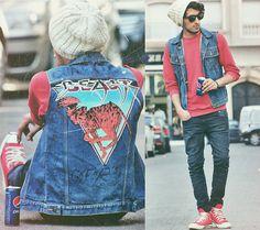 Beast & Pepsi (by Mohcine Aoki) | #Levi's #April77 jeans #Converse