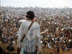 Jimi Hendrix - at Woodstock
