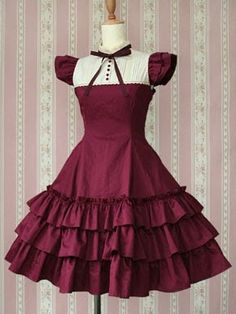 Porcelain doll costume dress Victorian maiden is reissuing three of their most popular dresses ever in new colors and new fabrics. As usual, we've been authorized to ac. Fancy Prom Dresses, Ball Dresses, Cute Dresses, Short Dresses, Cute Outfits, Party Dresses, Cosplay Dress, Costume Dress, Lolita Cosplay