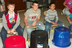 Bucket drumming ideas