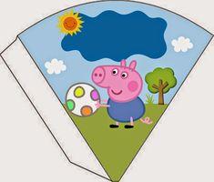 Peppa Pig Printables, George Pig, Pikachu, Character