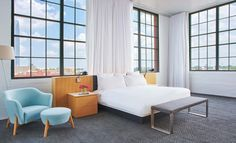 21c Oklahoma City - Boutique Art Hotel - Guest Rooms + Suites