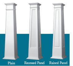 1000 ideas about craftsman columns on pinterest for Tapered craftsman porch columns
