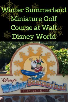 Do you love Santa and Christmas? How about enjoying Christmas year round at Disney World? Right next to Disney's Blizzard Beach Water Park is the Winter Summerland miniature golf course at Walt Disney World. Christmas year round sounds great to me, especially when the summer heat hits Florida!