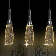 ceiling lights artistic crystal 3 light pendant lights with glass