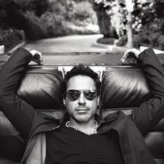 Robert Downy Jr... Been crushing on him for over 20 years! yep even after that fiasco movie mistake in '80