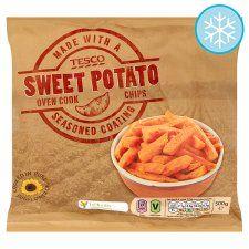Tesco Sweet Potato Oven Chips 500G - Groceries - Tesco Groceries