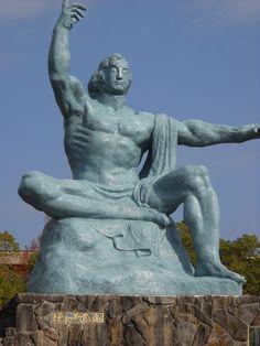平和祈念像_長崎県長崎市