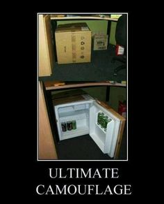 I want a mini fridge!!