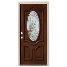Luxury Oval Replacement Glass for Entry Doors