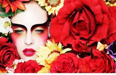 After the success of Alex Box's makeup monograph, Rankin is back for his second beauty book installment with acclaimed editorial makeup artist Ayami Nishimura. Check some of the amazing images! Rankin Photography, Beauty Photography, Fashion Photography, Serge Lutens Makeup, Make Up Art, How To Make, Fantasy Make Up, Foto Fashion, High Fashion