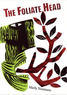 Clive Hicks-Jenkins artwork. Cover for 'The Foliate Head' by Marly Youmans, Stanza Poetry. Designed by Andrew Wakelin