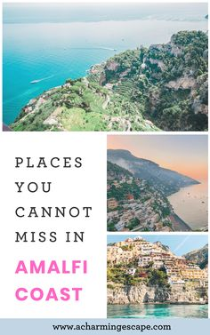 Top things to do and most beautiful places in Amalfi Coast including Positano, Amalfi, Ravello, Capri. The Ultimate Travel Guide to the Amalfi Coast Beautiful Villas, Beautiful Gardens, Beautiful Places, Vacation Destinations, Vacation Spots, Positano Beach, Paradise On Earth, Visit Italy, Florence Italy