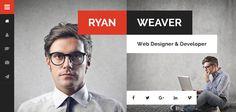 50+ Best Vcard Resume WordPress Themes 2017