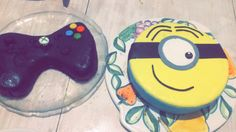 Gâteau minion & manette Xbox by A.Allicia