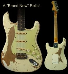 Not sure why someone would want a brand new guitar that looks like it's old and beat up.