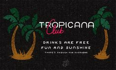 Had some George Michael songs playing through my mind since the news of his death. As a tribute to the man's life and music here are the opening lines to Club Tropicana re-imagined as if on a 1950s matchbook advertising the club. May he rest in peace.