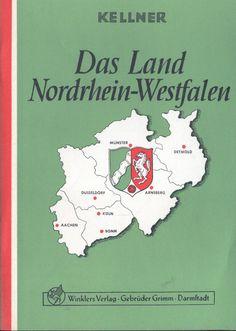 Kellner, Das Land Nordrhein-Westfalen NRW, Ergänzung Gemeinschaftskunde, 1965 Grimm, Places, Ebay, Waiting Staff, Community, Country, Bonn, Politics, Lugares