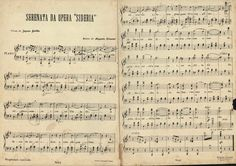 Na Geral  Valsugana Pedra Azul; Flores e Amores, Campinho; partituras musicais desde o século XIX
