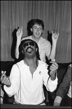 Paul McCartney & Stevie Wonder