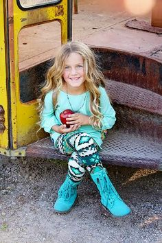 Love this outfit for little girls