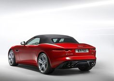 At the 2012 Paris Motor Show Jaguar has unveiled the F-TYPE, a two-seater soft-top convertible that marks the return to the company's values of performance and agility. Convertible, My Dream Car, Dream Cars, Supercars, 2013 Jaguar, Automobile, Jaguar F Type, Toyota Cars, Cars