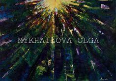 Impressionism Oil on canvas Mykhailova Olga 2018 price . Impressionism, Oil On Canvas, Art Gallery, About Me Blog, Art Museum, Fine Art Gallery, Painted Canvas, Impressionist