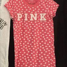 Victoria Secret Pink Shirt Victoria Secret Pink Shirts  Victoria's Secret Tops Tees - Short Sleeve