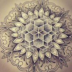 combo of dot work and geometric is perf!