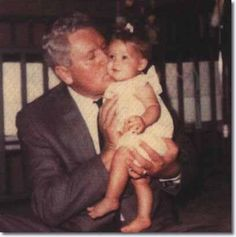 Vernon and his grand baby Lisa Marie....So Sweet!!!!