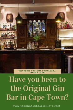 If you are a gin drinker then you need to visit The Gin Bar in Cape Town. It is tucked away in a secret spot and here you can enjoy a signature drink before going out exploring the nightlife of the city. Basement Living Rooms, Gin Bar, Nordic Walking, Cape Town South Africa, Nightlife, Exploring, Popular, The Originals, Drinks