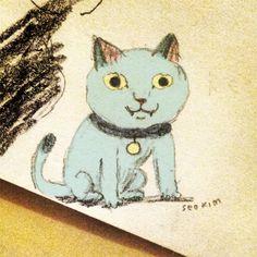 kitty doodle, Seo Kim